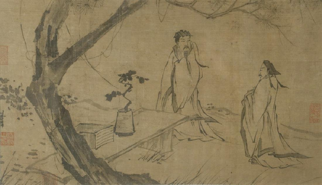 18TH C. JAPANESE INK DRAWING - 2
