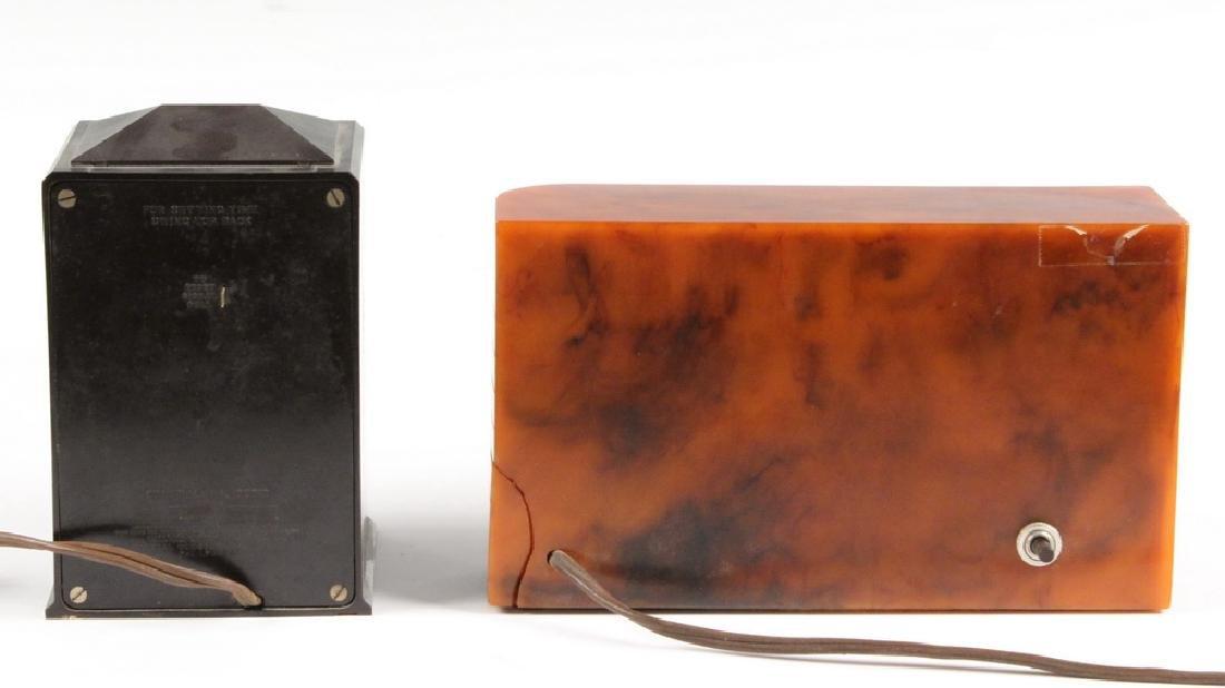 (2) VINTAGE CLOCKS: GE EXECUTIVE & WINSLOW CATALIN - 3