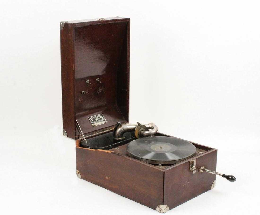 1922 Portable Victor Victrola Phonograph VV50 54843