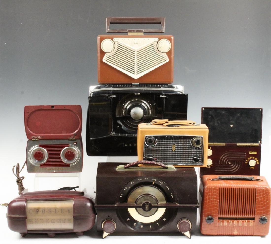 (8) VINTAGE RADIOS