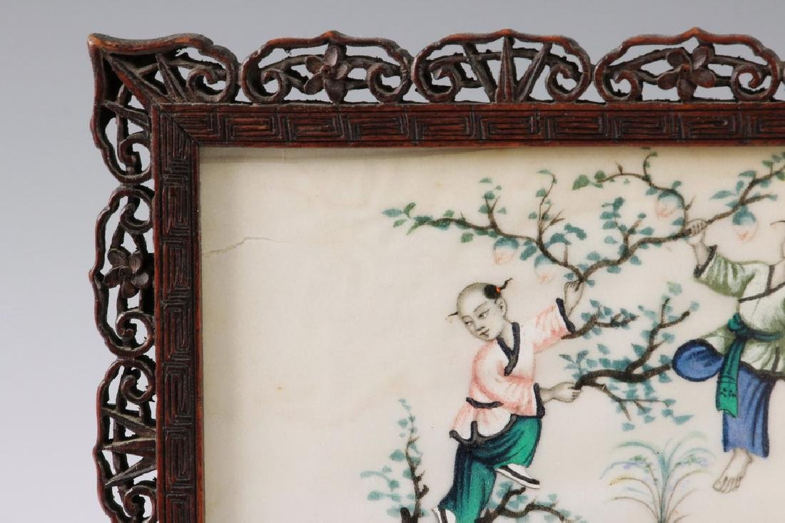 CHINESE TABLE SCREEN - 2