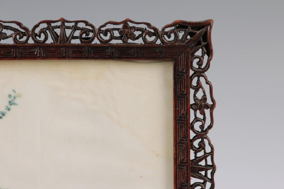CHINESE TABLE SCREEN - 3