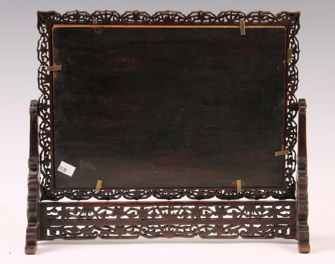 CHINESE TABLE SCREEN - 5