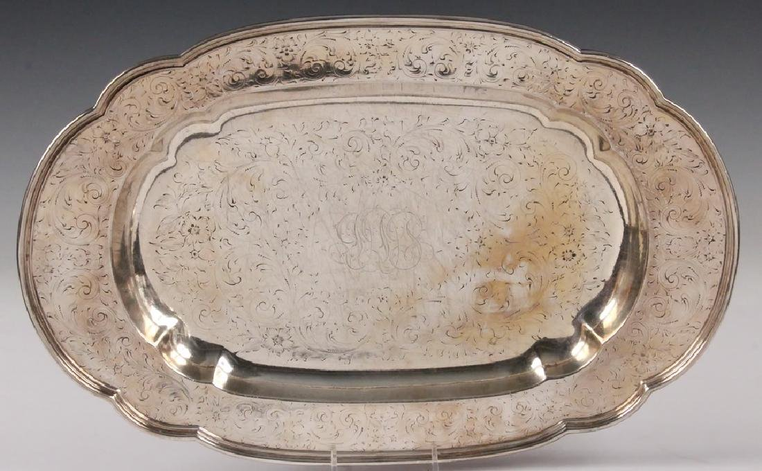 (2) STERLING SILVER TRAYS - 2