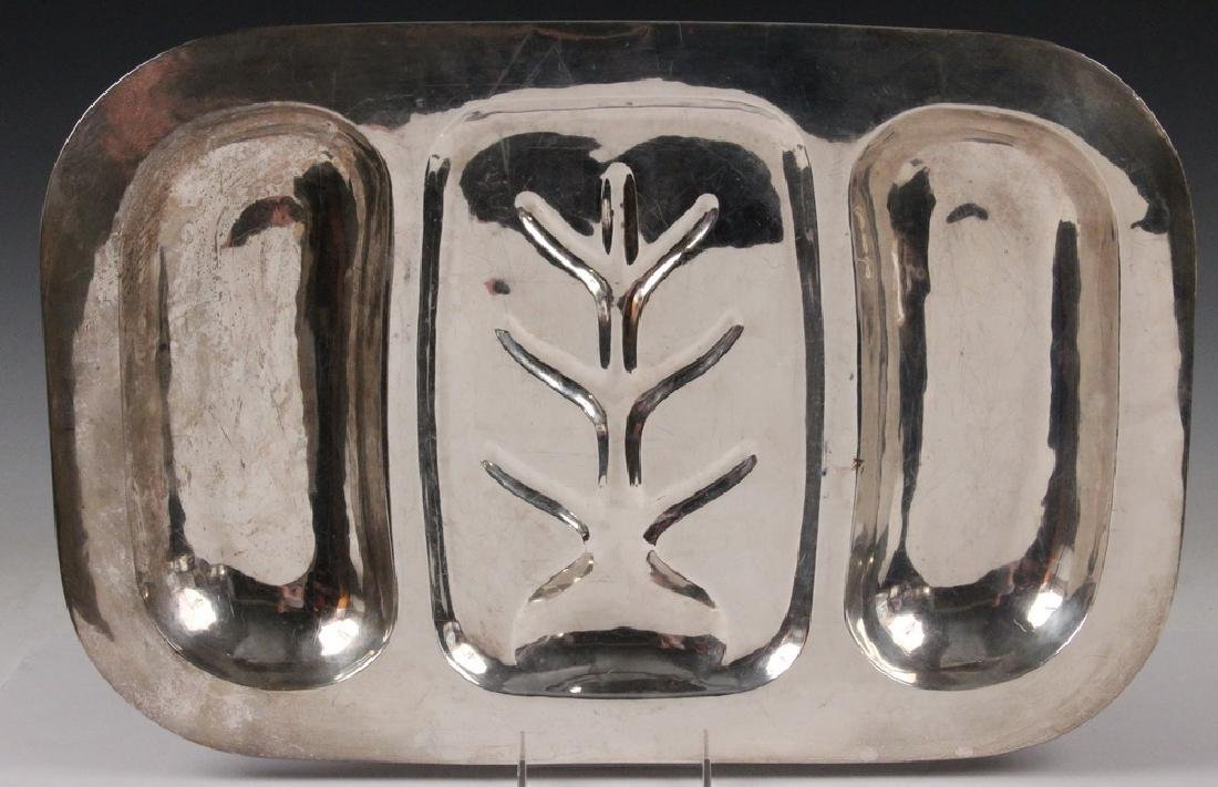 (2) STERLING SILVER TRAYS - 6
