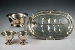 4 PCS SANBORNS MEXICAN SILVER