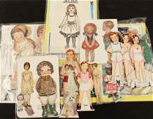 A COLLECTION OF PAPER DOLLS,1925-1945