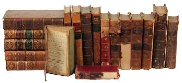 LEATHERBOUND BOOKS, INCOMPLETE SETS