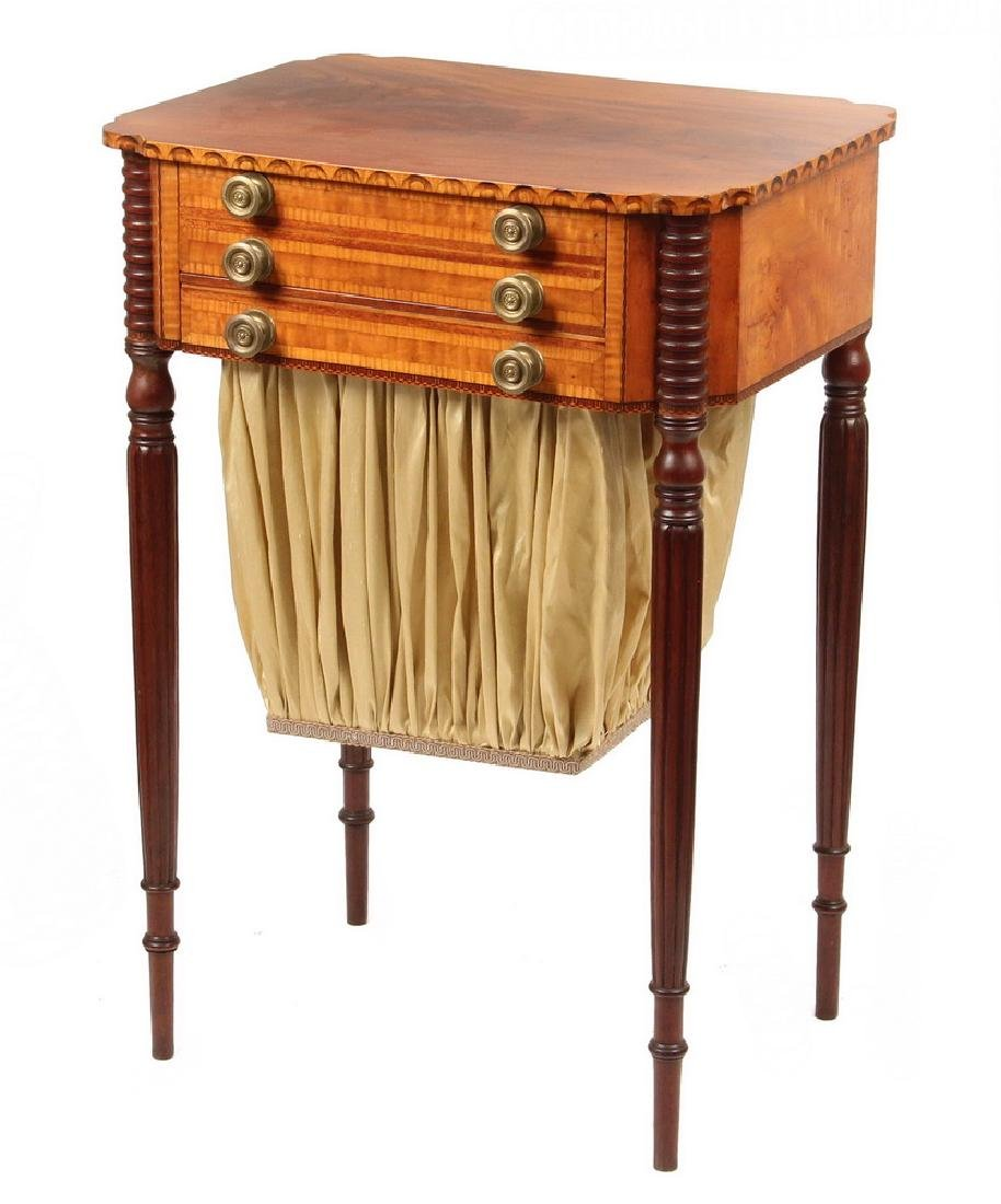BOSTON SEWING STAND IN THE MANNER OF THOMAS SEYMOUR