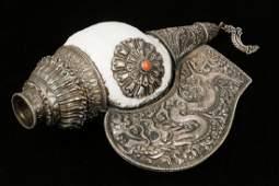 TIBETAN SHELL HORN