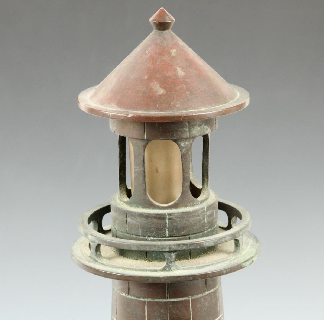 (2) LIGHTHOUSE FORM LAMPS - 4
