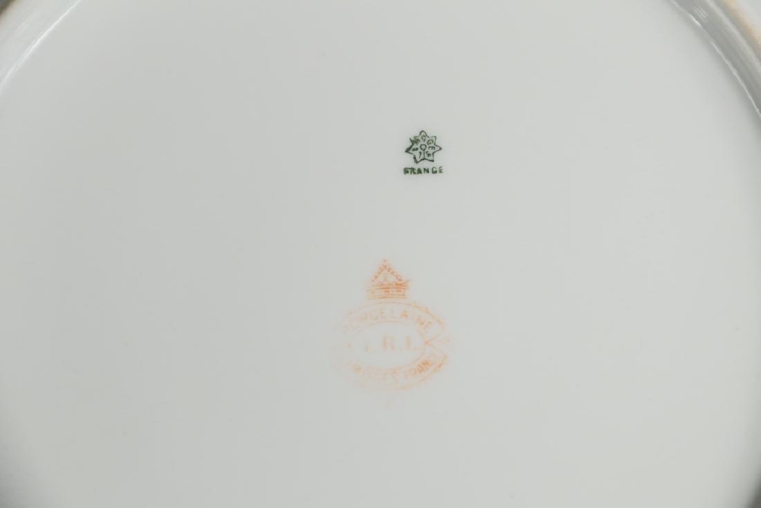 (15 PC) LIMOGES ARTIST SIGNED GAME SERVICE - 3
