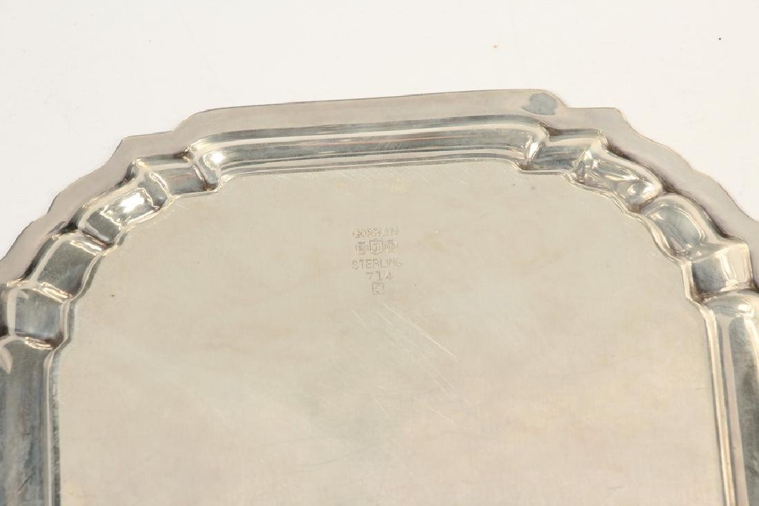 (8) STERLING SILVER TRAYS - 2