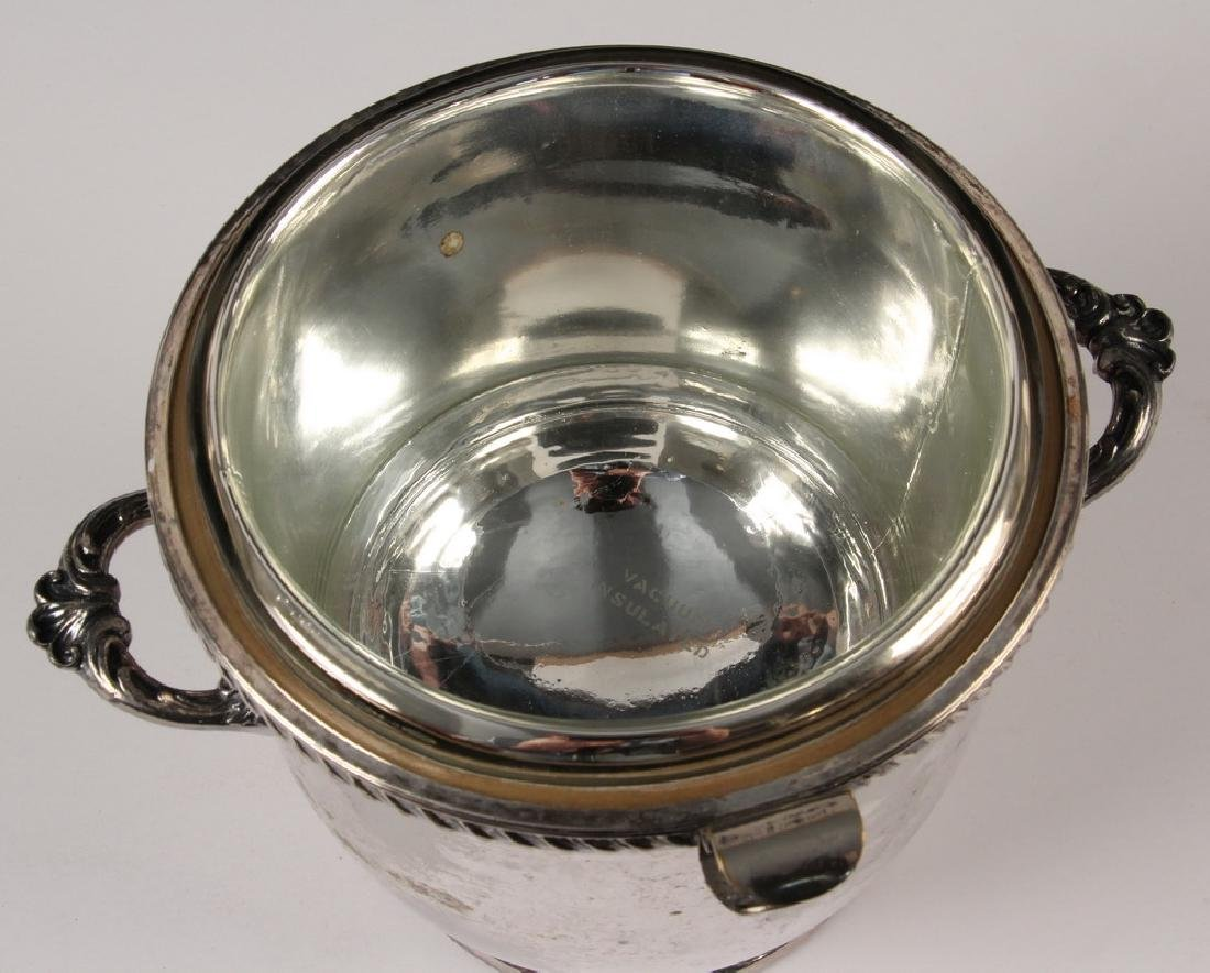 SILVER PLATED ICE BUCKET - 2