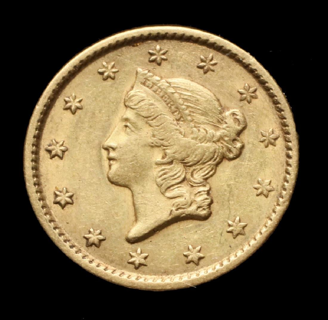 1851 Type 1 Liberty Head Gold Piece