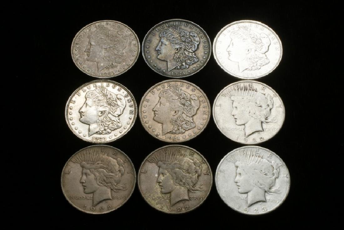 (9) Silver Dollars