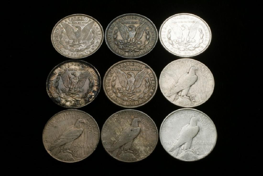 (9) Silver Dollars - 2