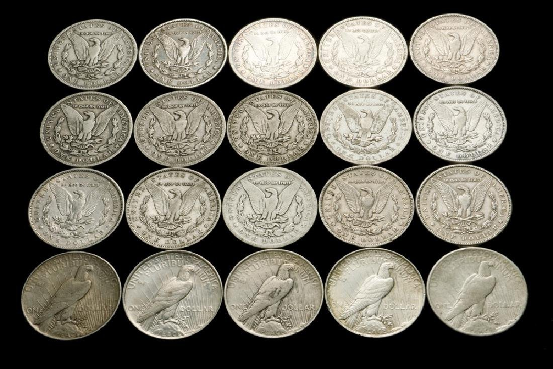 Roll of (20) Silver Dollars - 2