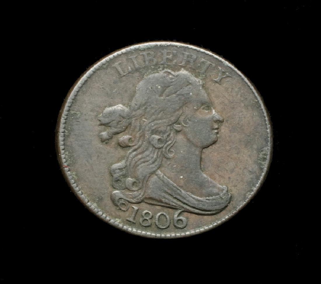 1806 Half Cent Draped Bust