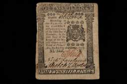 Colonial Currency Pennsylvania