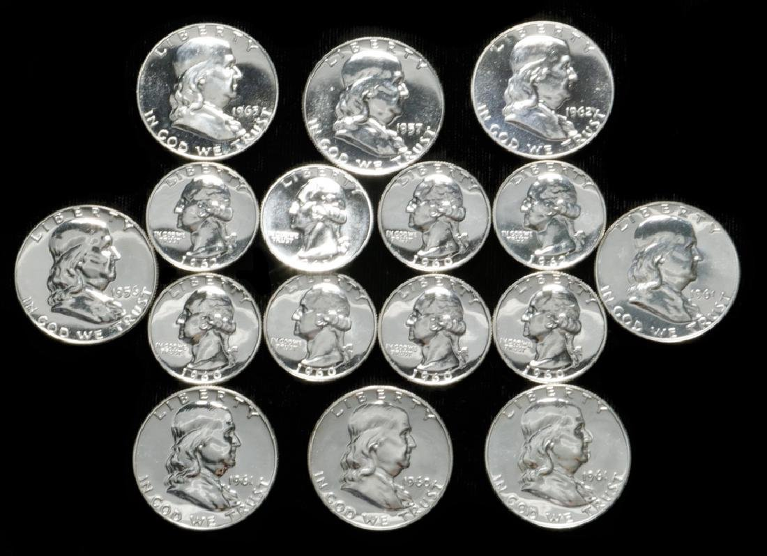 Proof Silver Coins