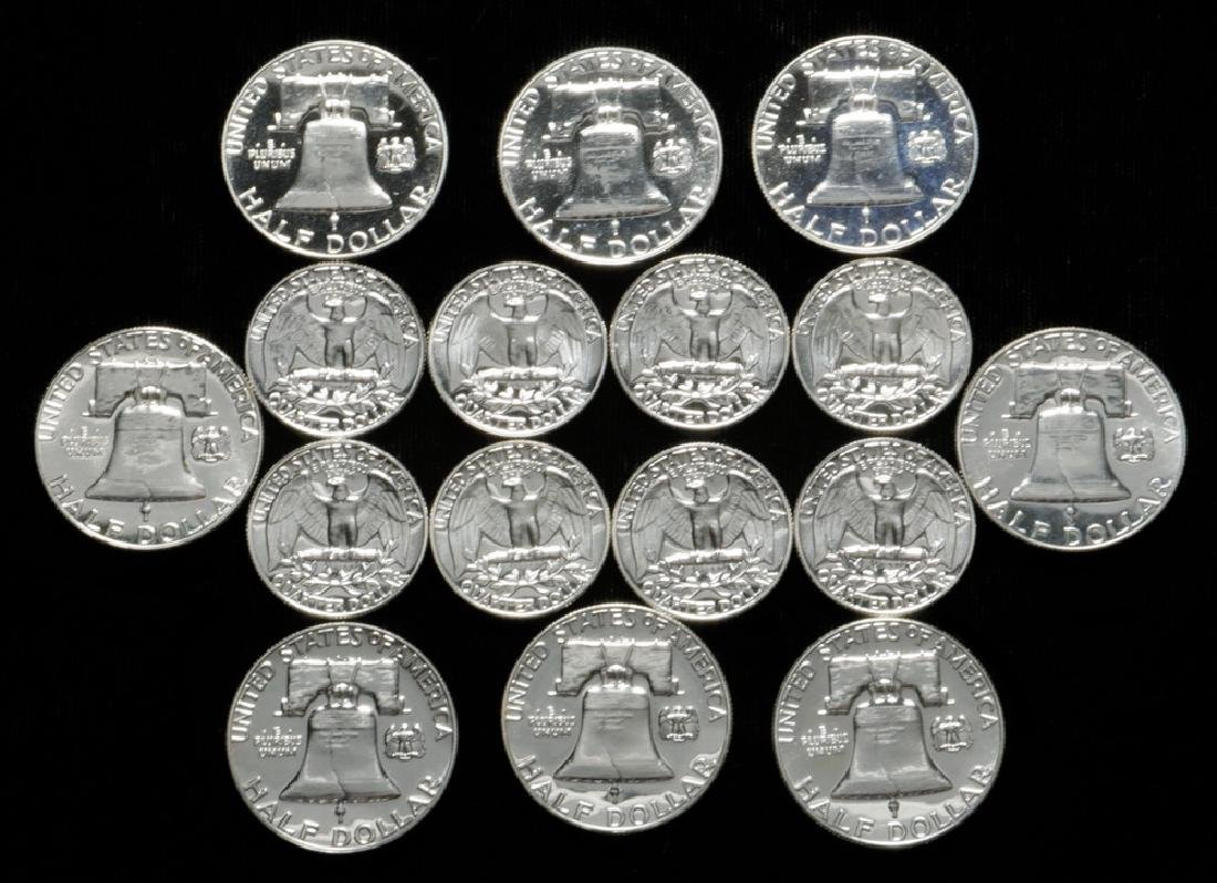 Proof Silver Coins - 2