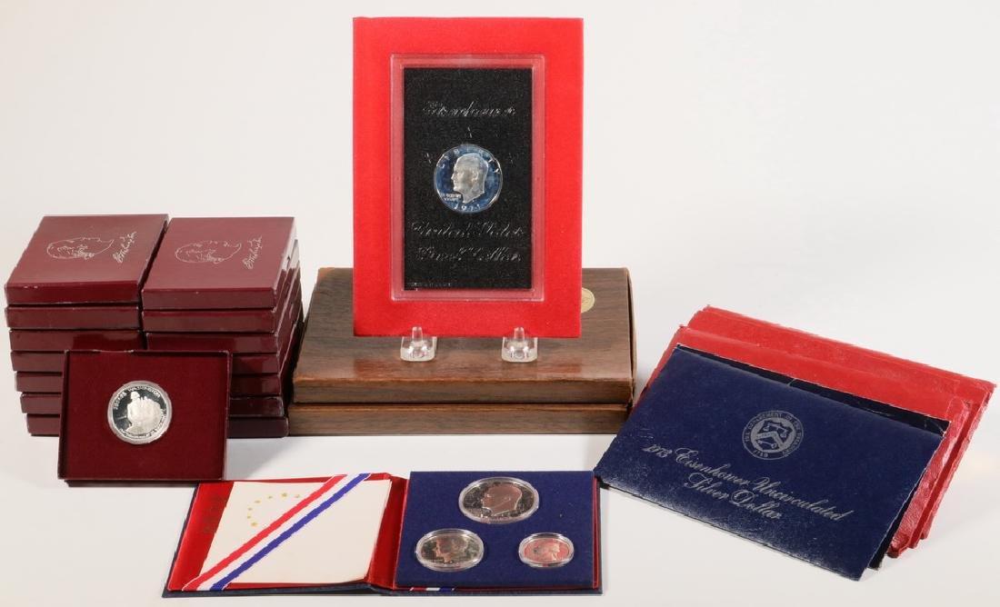 (24) Modern Silver Pieces