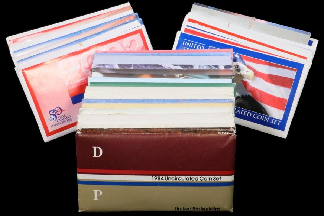 (28) U.S. Mint Sets