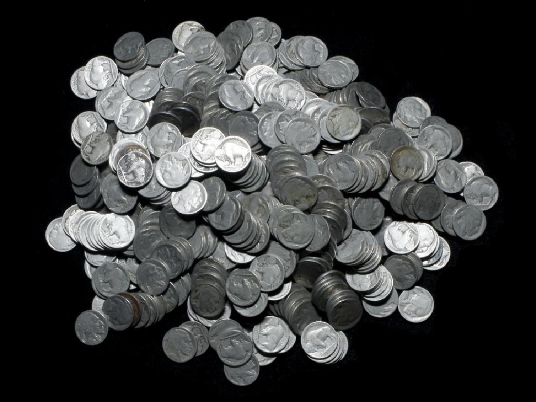 (327) Dateless Buffalo Nickels