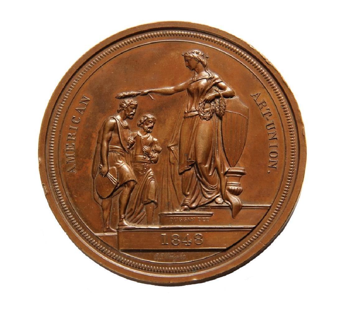 Gilbert Stuart Medal, designed by Salathiel Elliss - 2