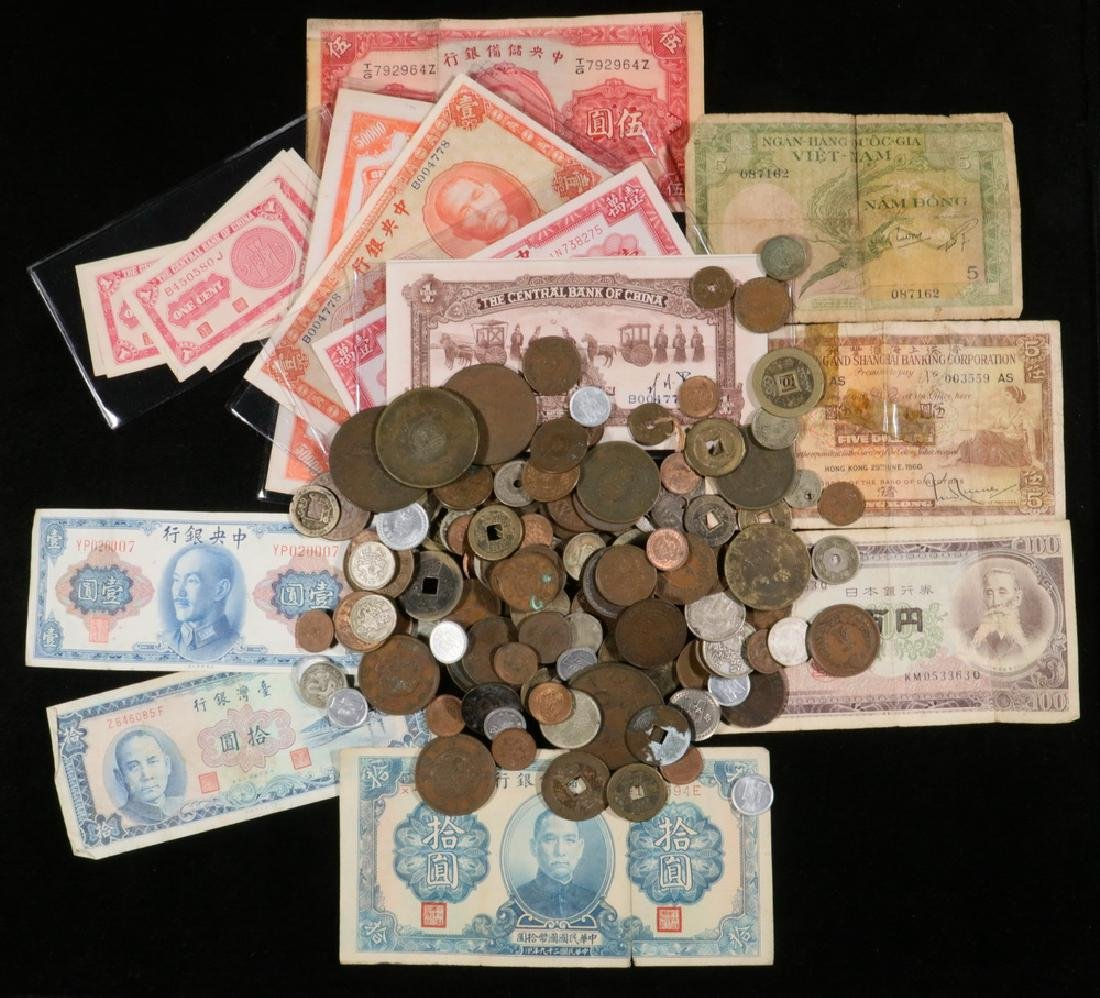 Chinese and Asian Coins and Currency