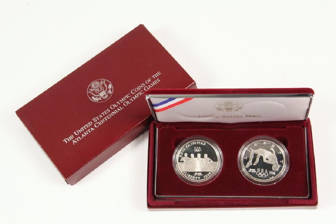 (4) 1996 Olympic Coins