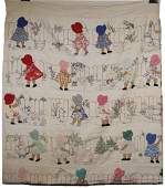 HAND MADE BABY QUILT  71 x 84
