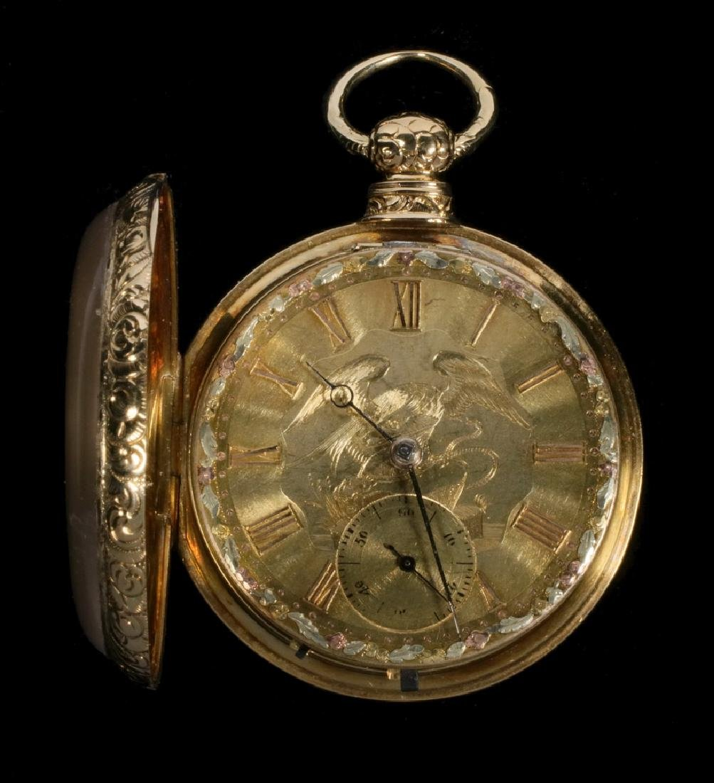 GOLD GENT'S POCKET WATCH
