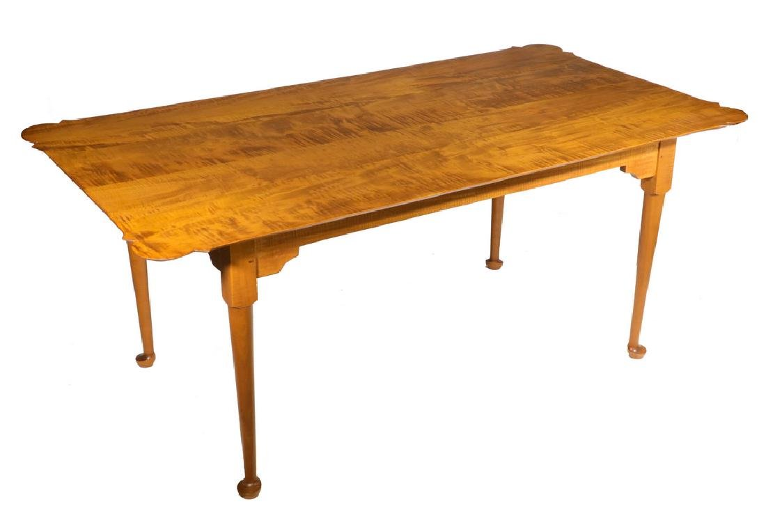 ELDRED WHEELER DINING TABLE WITH TWO LEAVES