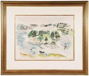 JOHN MARIN (NY/ME/NJ/FRANCE, 1870-1953); GIFT