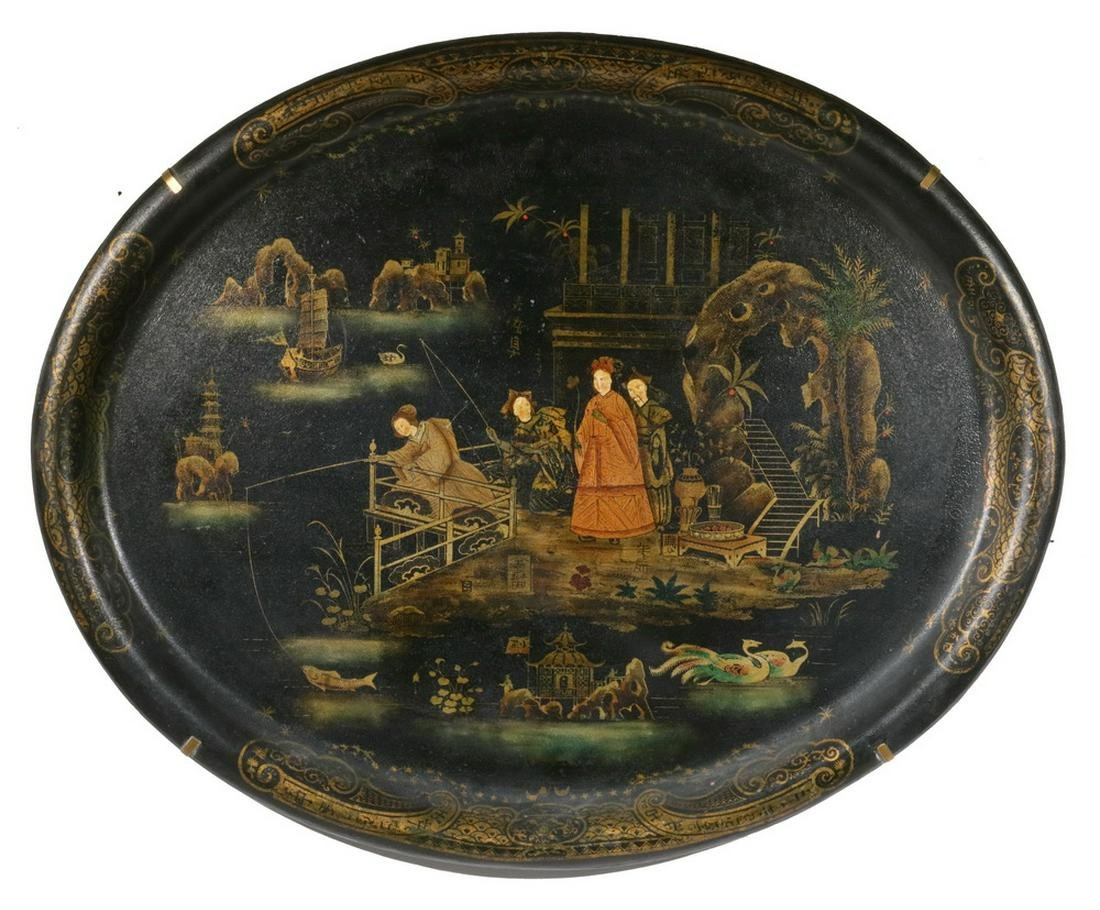 CHINOISERIE TOLEWARE TRAY