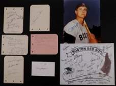 COLLECTION OF BASEBALL AUTOGRAPHS
