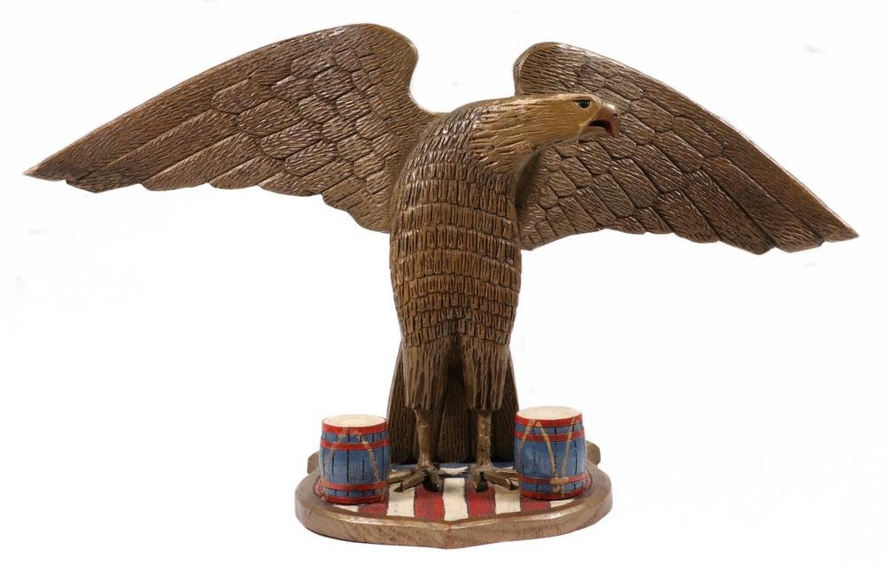 CARVED SPREAD WING EAGLE