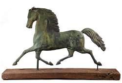 BLACKHAWK HORSE WEATHERVANE