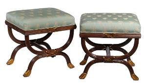 PR WILLIAM SWITZER OTTOMANS