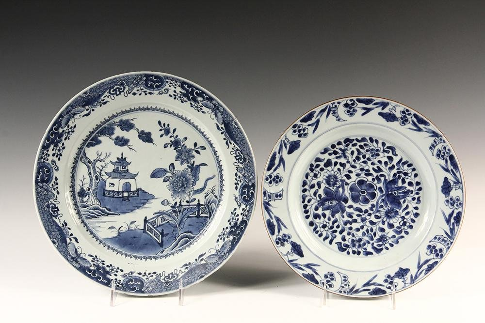CHINESE EXPORT CHARGER & PLATE