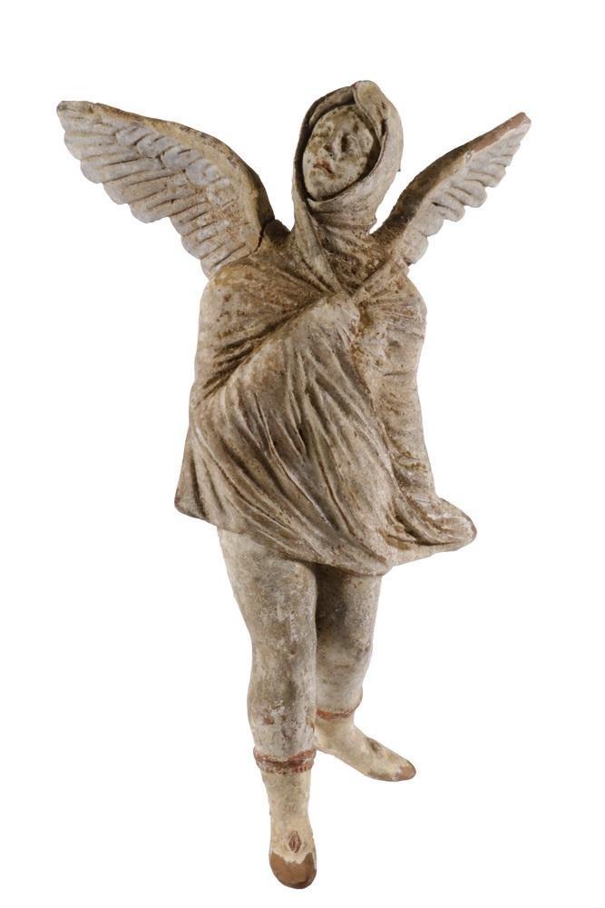 ANCIENT GREEK MINIATURE POTTERY FIGURE