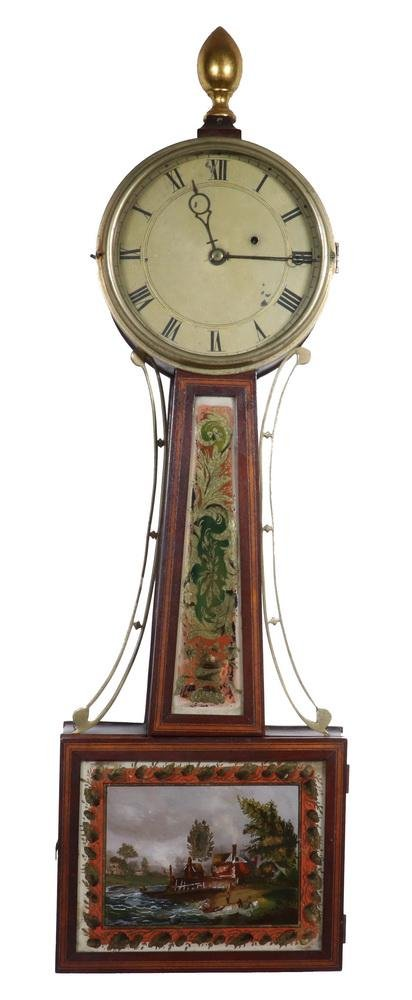 FEDERAL PERIOD BANJO CLOCK