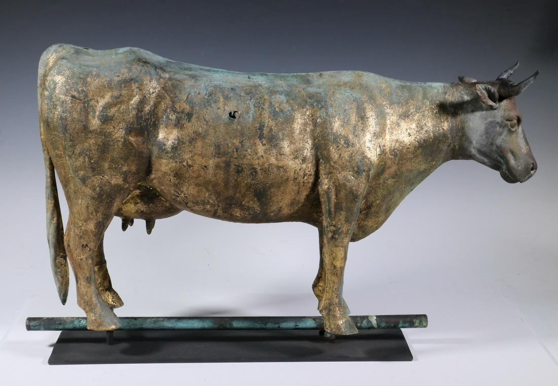 FULL-BODY COW WEATHERVANE