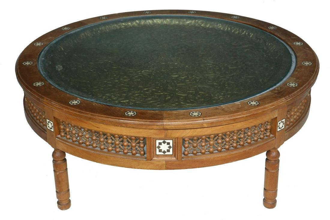 SYRIAN INLAID COFFEE TABLE