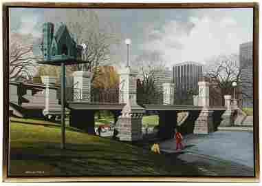 MELBOURNE BRINDLE (CT/CA/ME/FL/AUSTRALIA, 1904-1995)