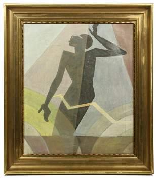 AARON DOUGLAS (NY/KS, 1899-1979)