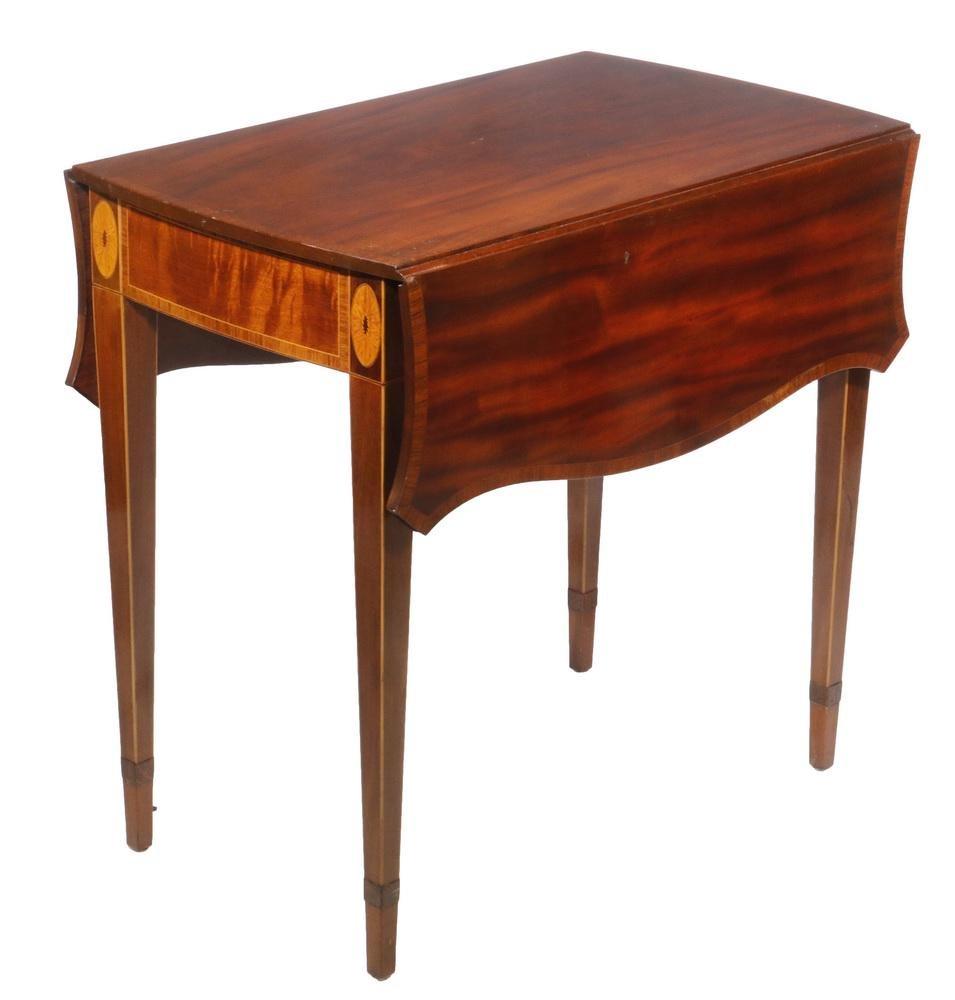 INLAID PEMBROKE TABLE