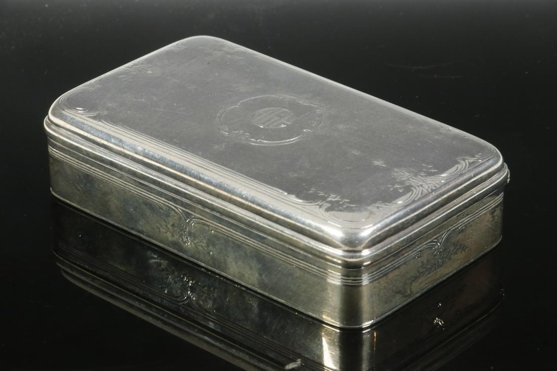 TIFFANY & CO. SILVER DRESSER BOX